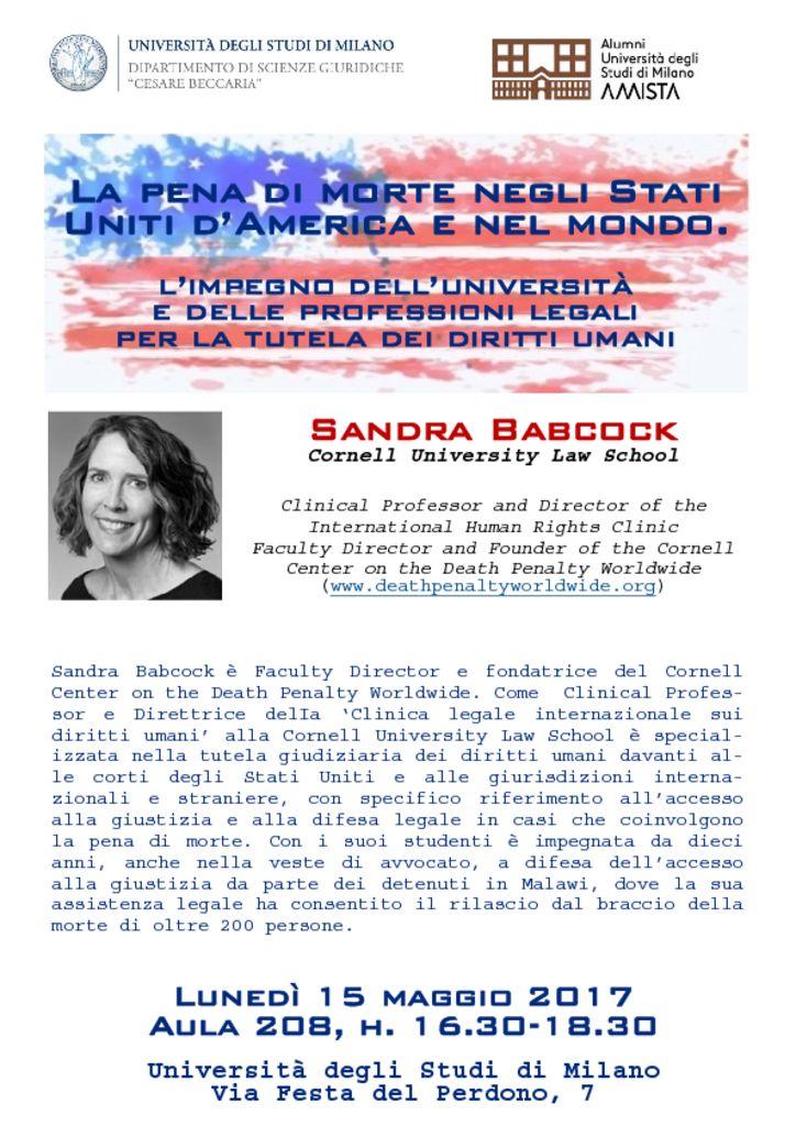 thumbnail of Locandina Babcock